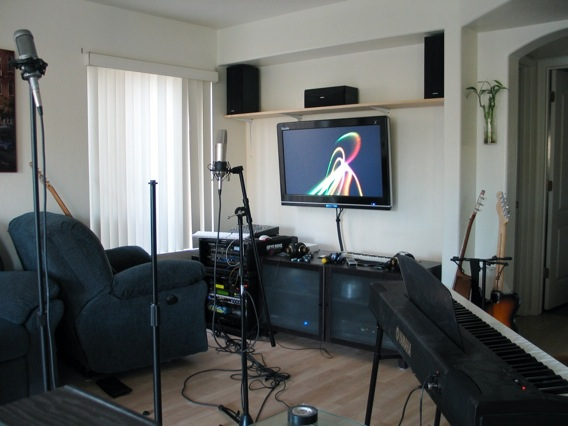 Astounding The 1K Home Recording Studio Mac Add On Preston Lees Blog Largest Home Design Picture Inspirations Pitcheantrous